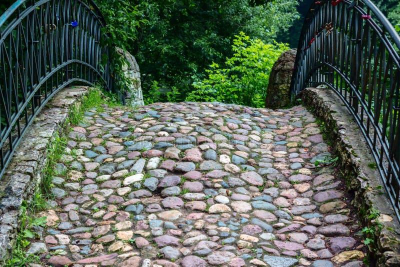 桥梁老石头 库存图片