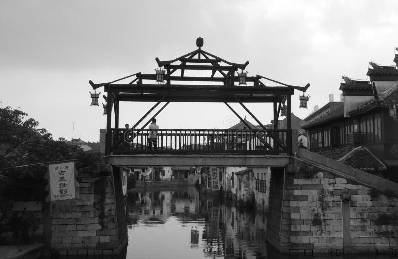 桥梁老石头 图库摄影
