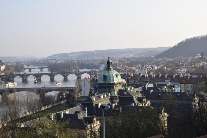 桥梁老镇布拉格ful的图片  免版税库存图片