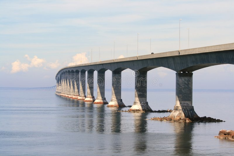 桥梁联邦绕 免版税库存图片