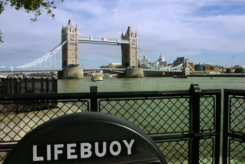 桥梁英国伦敦塔 库存照片