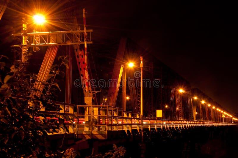 桥梁蒙特利尔维多利亚 免版税库存图片