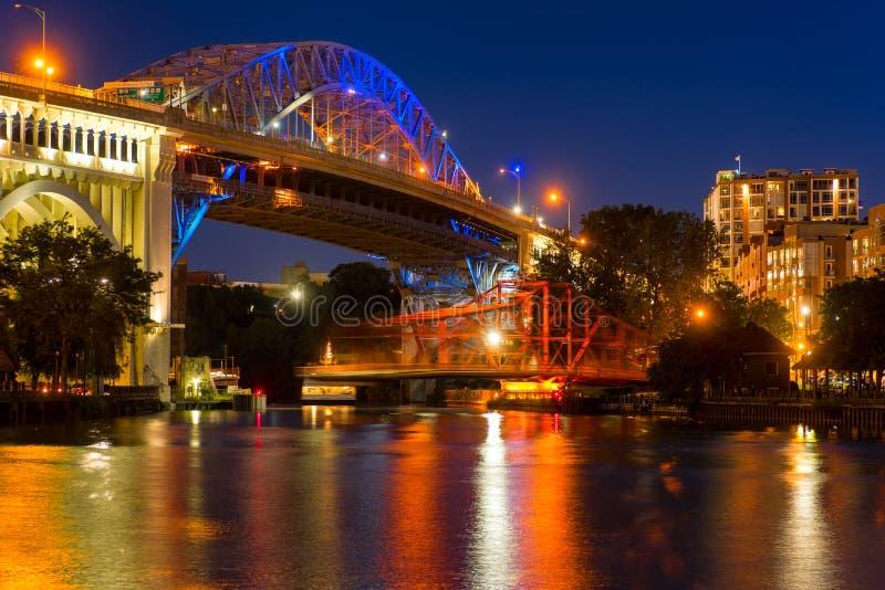 桥梁行动 免版税图库摄影