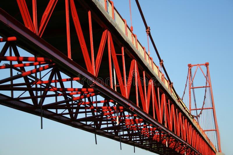 桥梁详细资料 图库摄影