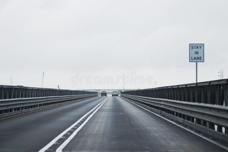 桥梁运输路线逗留 库存照片