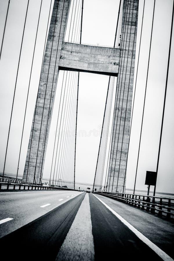 桥梁透视 库存图片