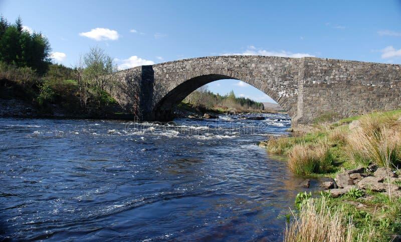桥梁通用涉过 免版税库存图片