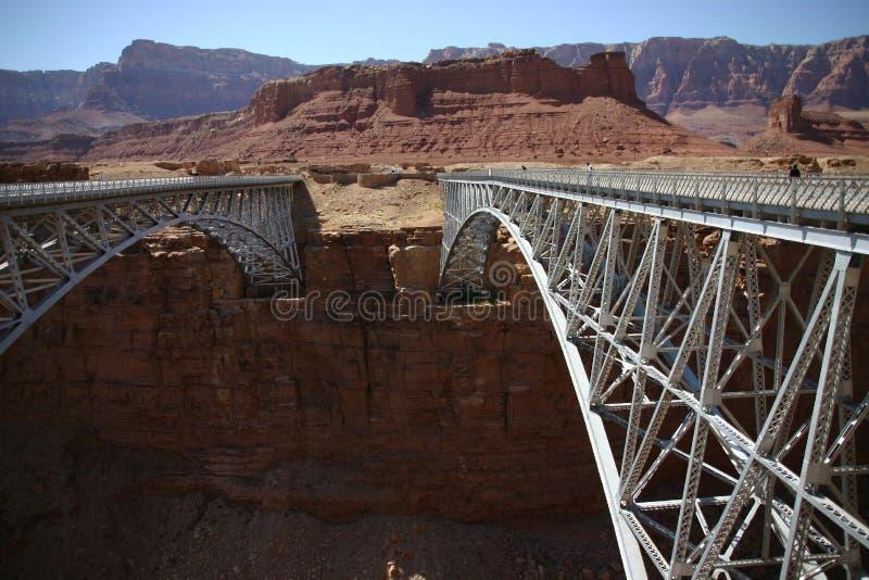 桥梁那瓦伙族人 免版税库存照片