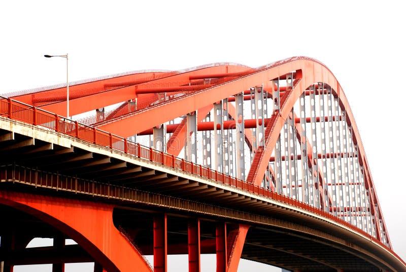 桥梁钢 库存图片