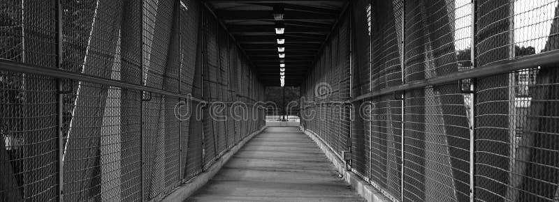 桥梁长走 免版税库存图片