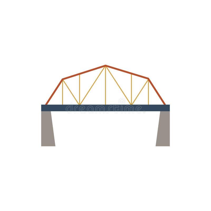 桥梁,停止,绳索象传染媒介图象 皇族释放例证