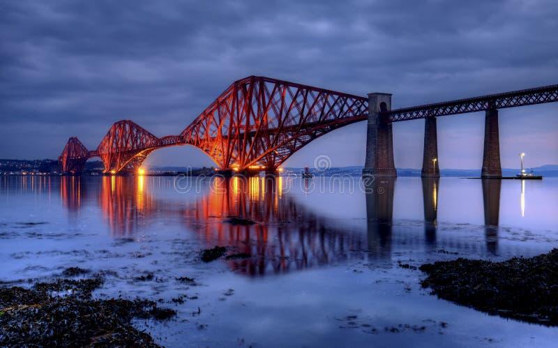 桥梁,爱丁堡,苏格兰 库存照片