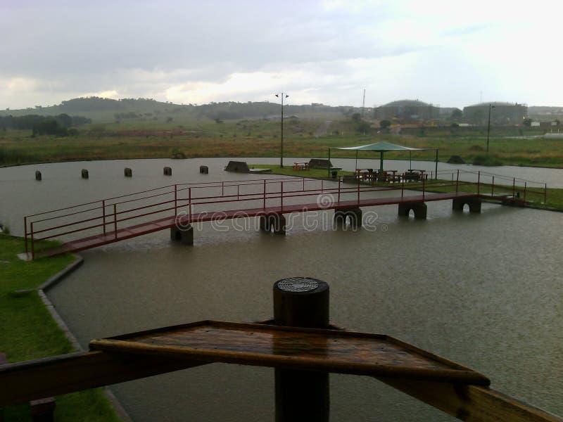 水桥梁 库存照片