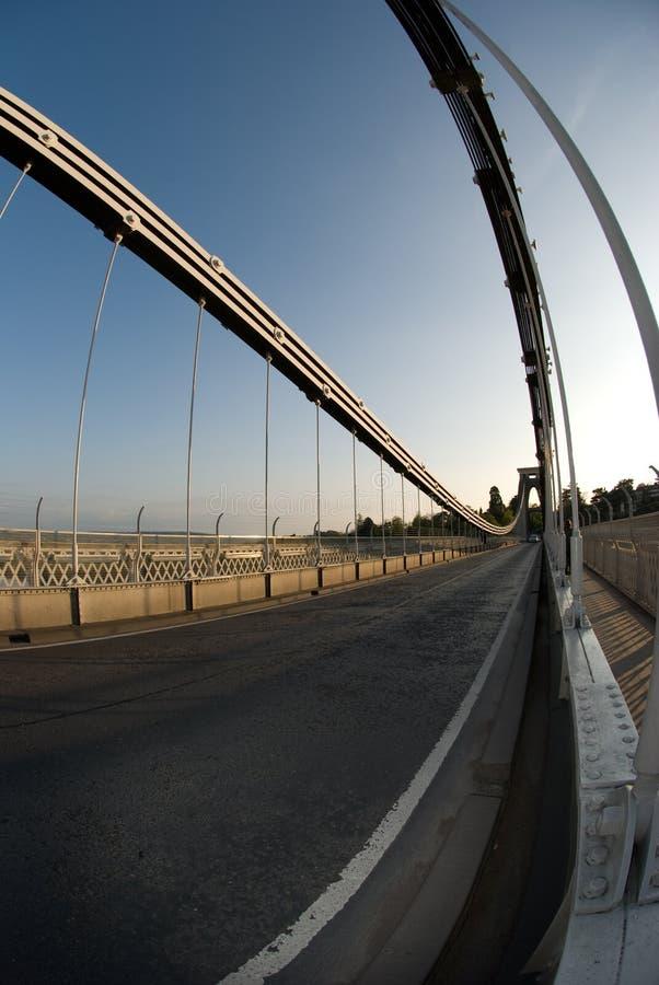 桥梁clifton暂挂 图库摄影