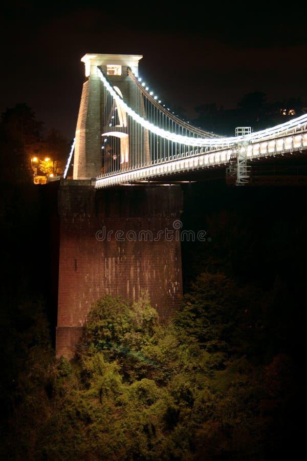 桥梁clifton暂挂 免版税图库摄影