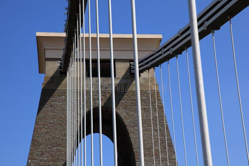 桥梁clifton暂挂 库存照片