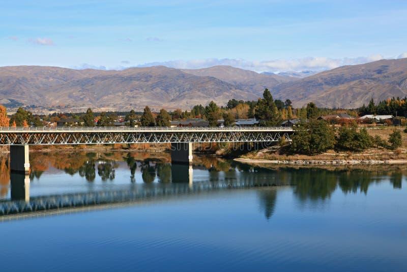 桥梁dunstan湖 库存图片