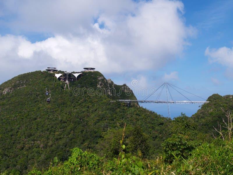 桥梁langkawi天空 库存照片