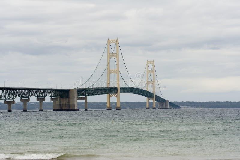 桥梁mackinaw 库存照片