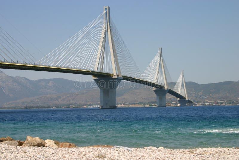 桥梁patras 库存照片