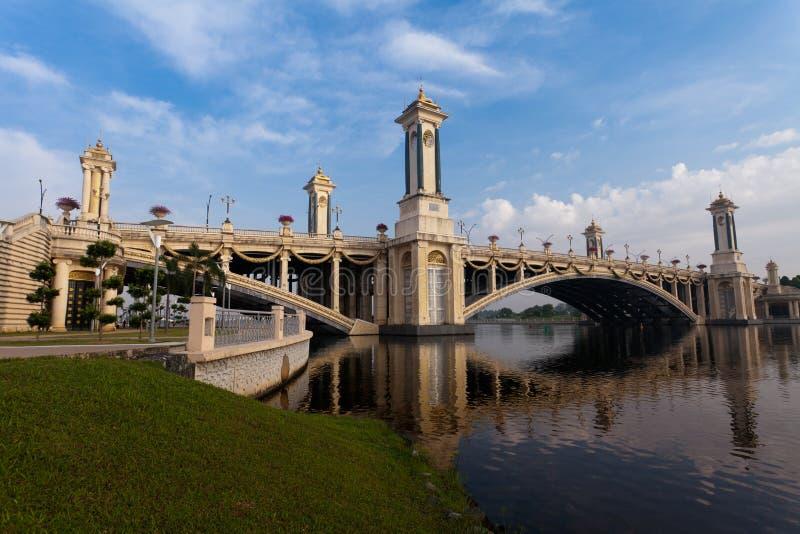 桥梁putrajaya 免版税库存图片