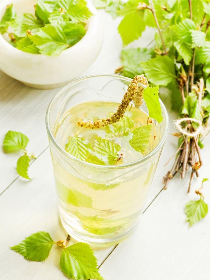 桦树饮料 库存图片