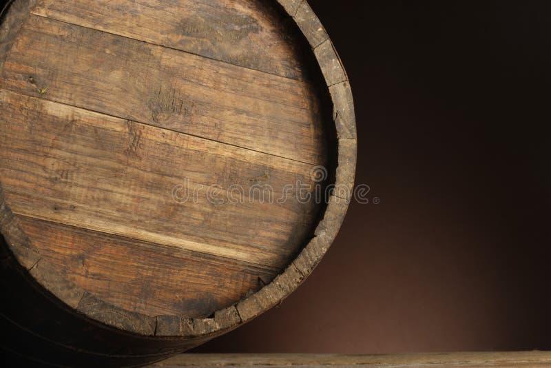 桶酒 免版税图库摄影