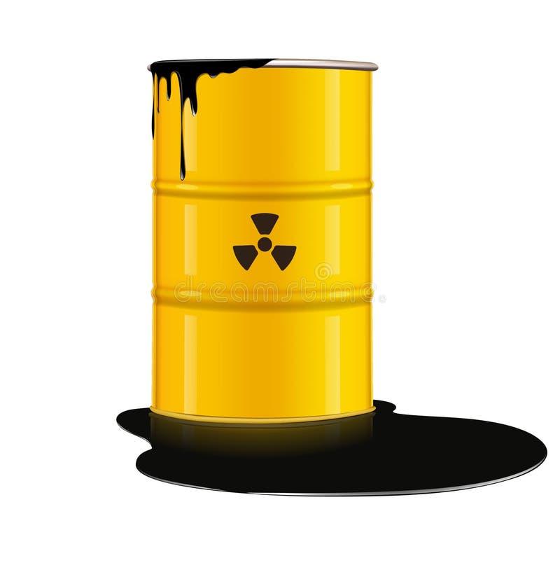 桶金属 库存例证