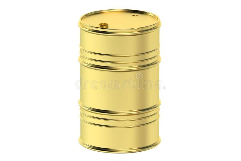 桶贵重的石油 库存例证