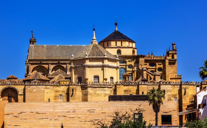梅斯基塔宽容大教堂科多巴西班牙 库存图片