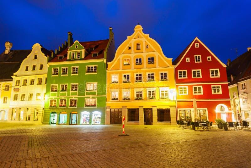 梅明根老镇,德国 免版税图库摄影