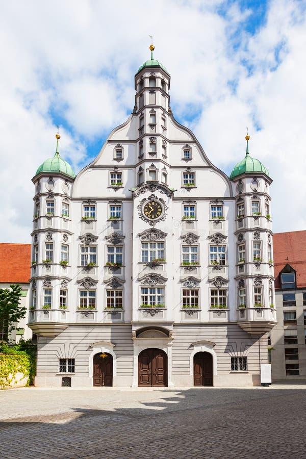 梅明根老镇,德国 免版税库存照片