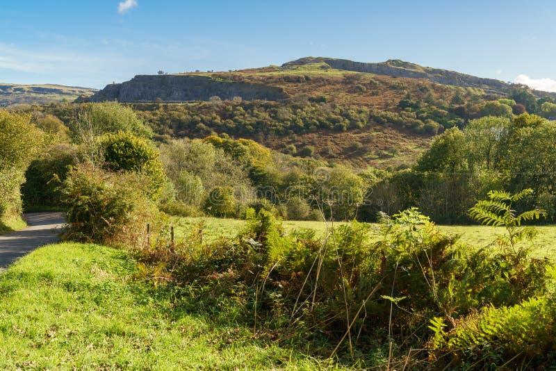 梅瑟蒂德菲尔,威尔士,英国 免版税图库摄影