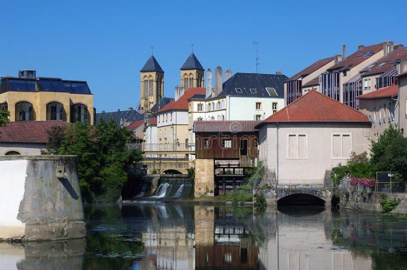 Download 梅茨摩泽尔河 库存照片. 图片 包括有 石头, 有历史, 欧洲, 教会, 蓝色, 房子, 运河, 晴朗, 吸引力 - 15699308