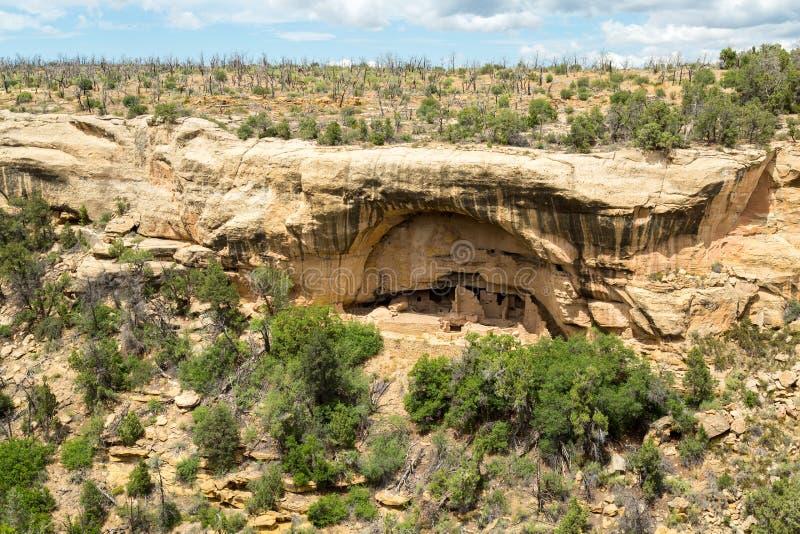 梅萨维德国家公园在科罗拉多 库存图片