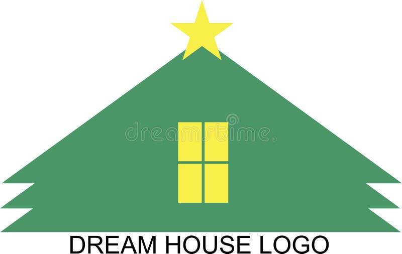 梦之家商标 库存图片