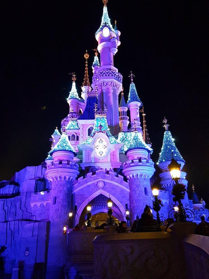 梦想城堡 免版税库存图片