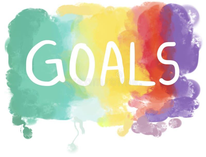 梦想欲望有希望的启发想象力目标视觉概念 免版税库存图片