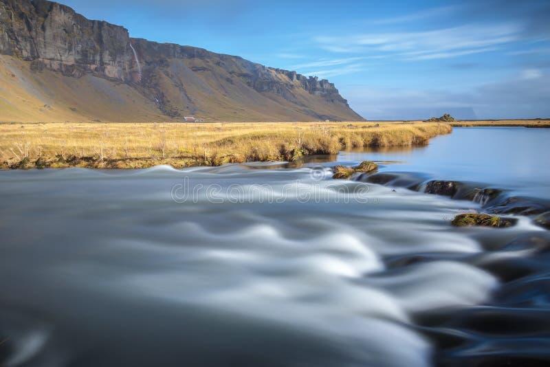 梦想的冰岛 库存照片