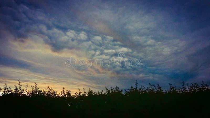 梦想的天空 库存照片