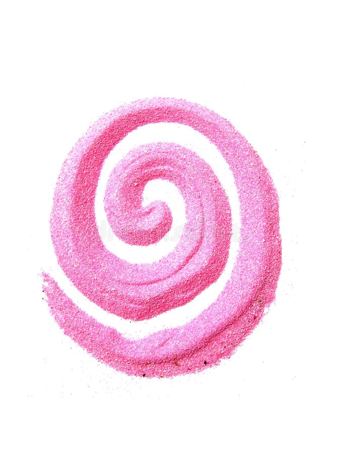 梦想粉红色 库存照片