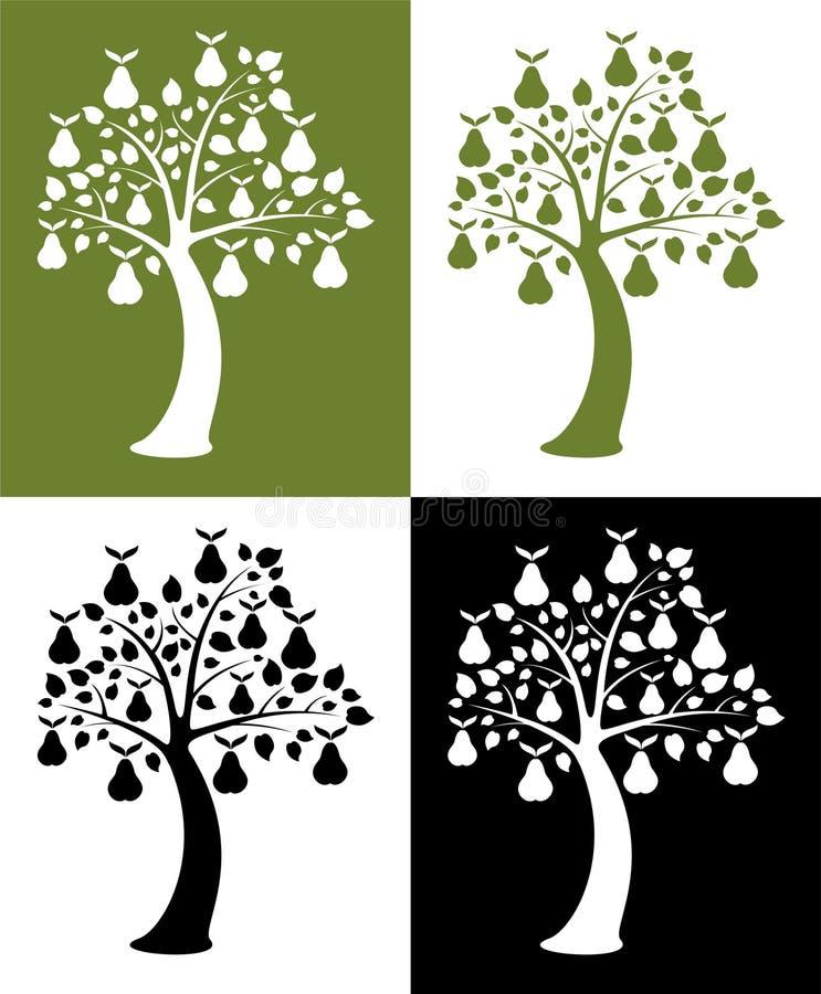 梨集合结构树 皇族释放例证