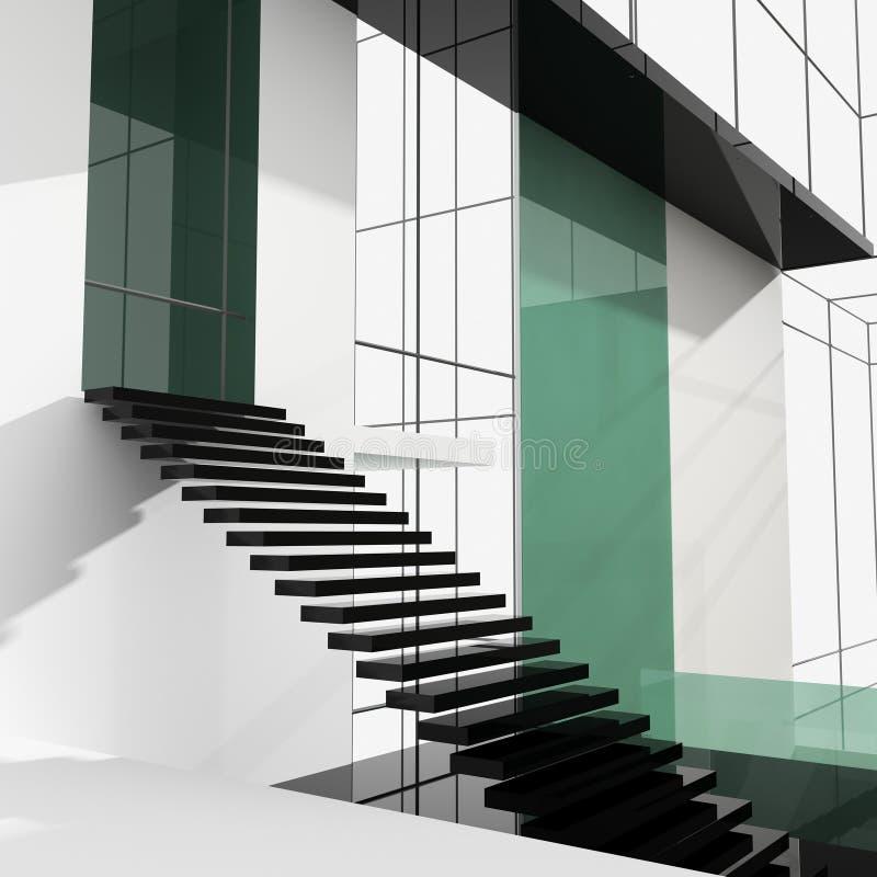 梯子办公室 库存例证