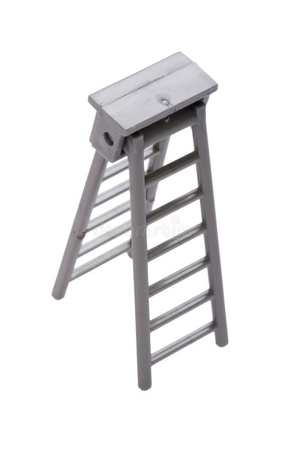梯子玩具 免版税库存图片