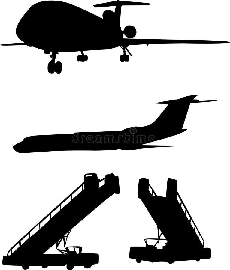 梯子计划 库存例证