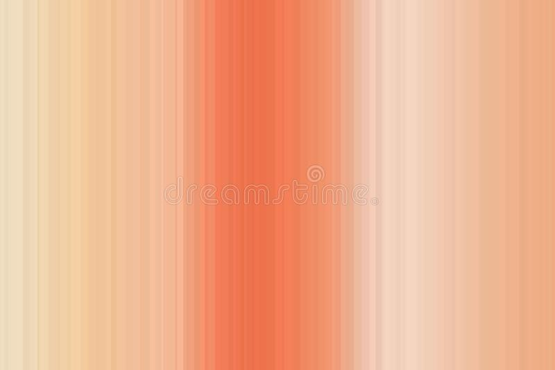 梯度光滑的迷离五颜六色的无缝的条纹样式 抽象背景例证 时髦的现代趋向颜色 库存例证