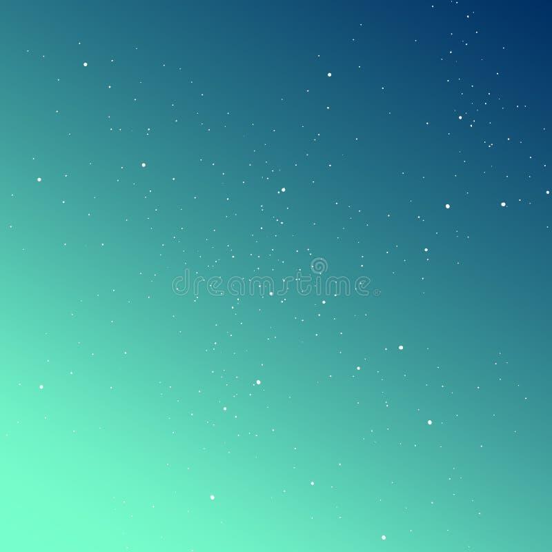 梯度天空有星背景 您的设计的时髦的解答 免版税库存图片