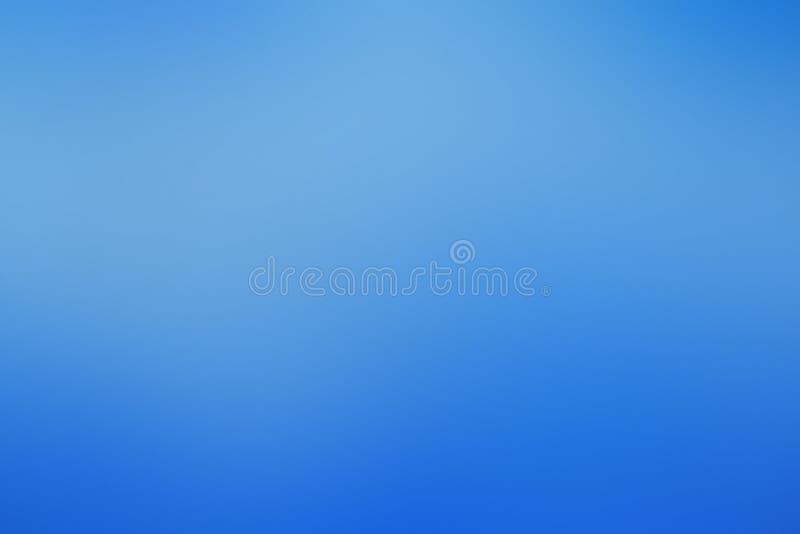 梯度抽象背景蓝色,天空,冰,墨水,与拷贝空间 免版税图库摄影