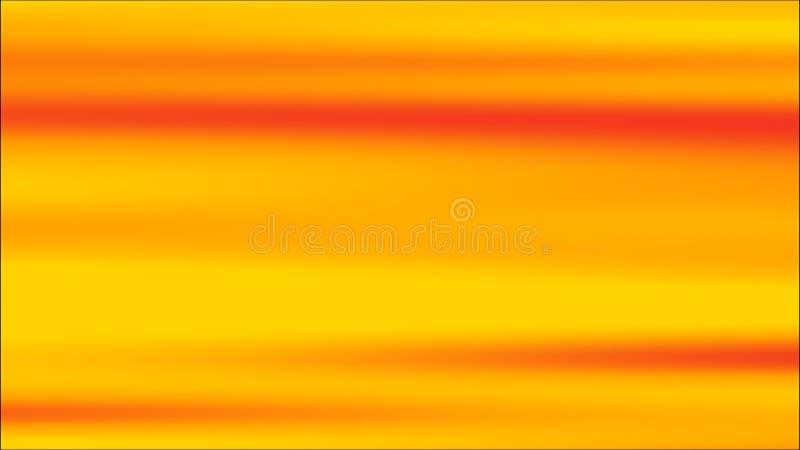 梯度橙色背景 晴朗的夏天明亮的甜多色被弄脏的背景 3d?? 向量例证