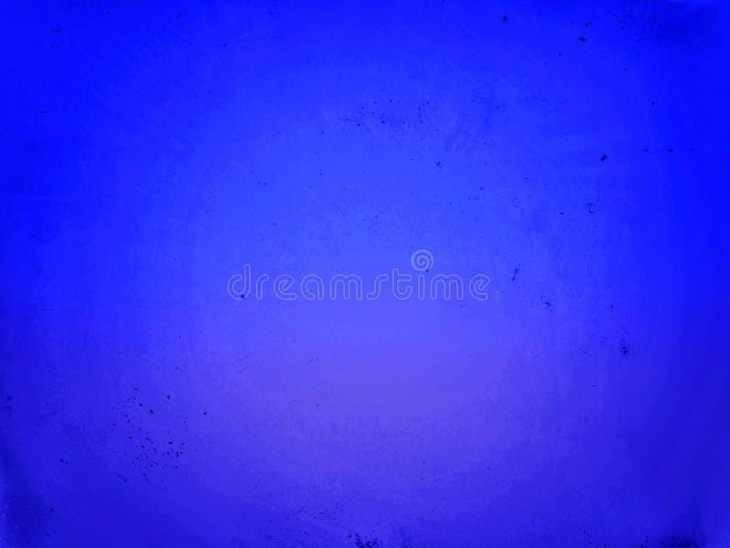 梯度蓝色背景 皇族释放例证